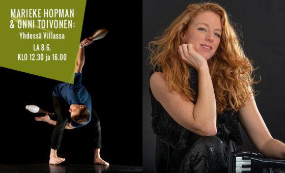 Performance Silence Festival Finland van Marieke en Onni komt naar Nederland!