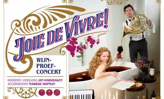 Nieuw! Joie de Vivre! wijn-proef-concert.